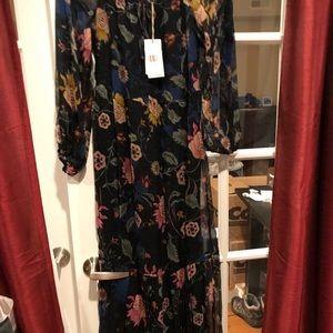 Johnny Was silk dress !!!Firm